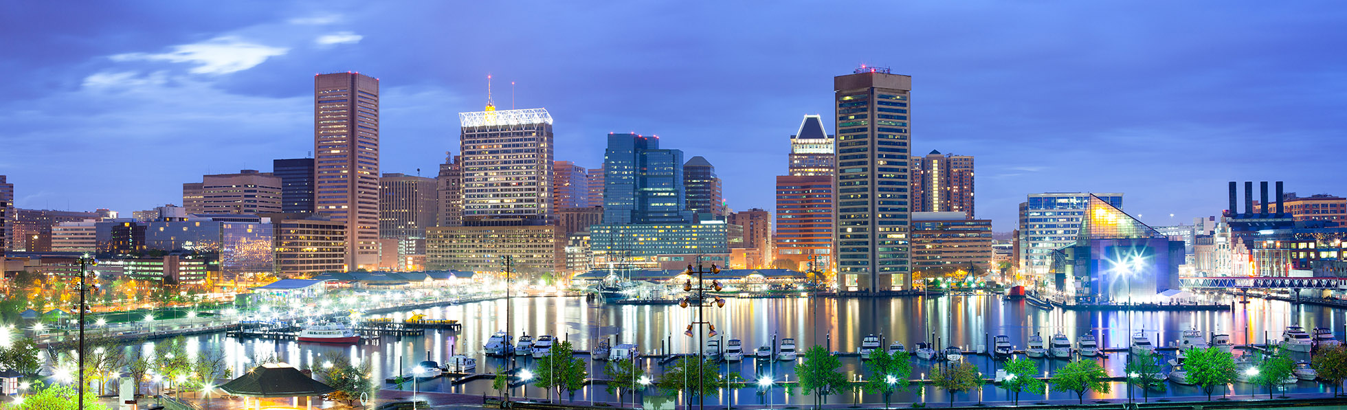 baltimore-inner-harbor-night