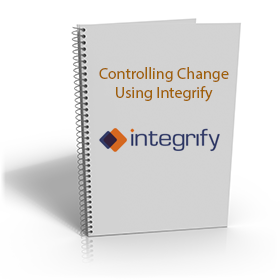 controlling change using integrify